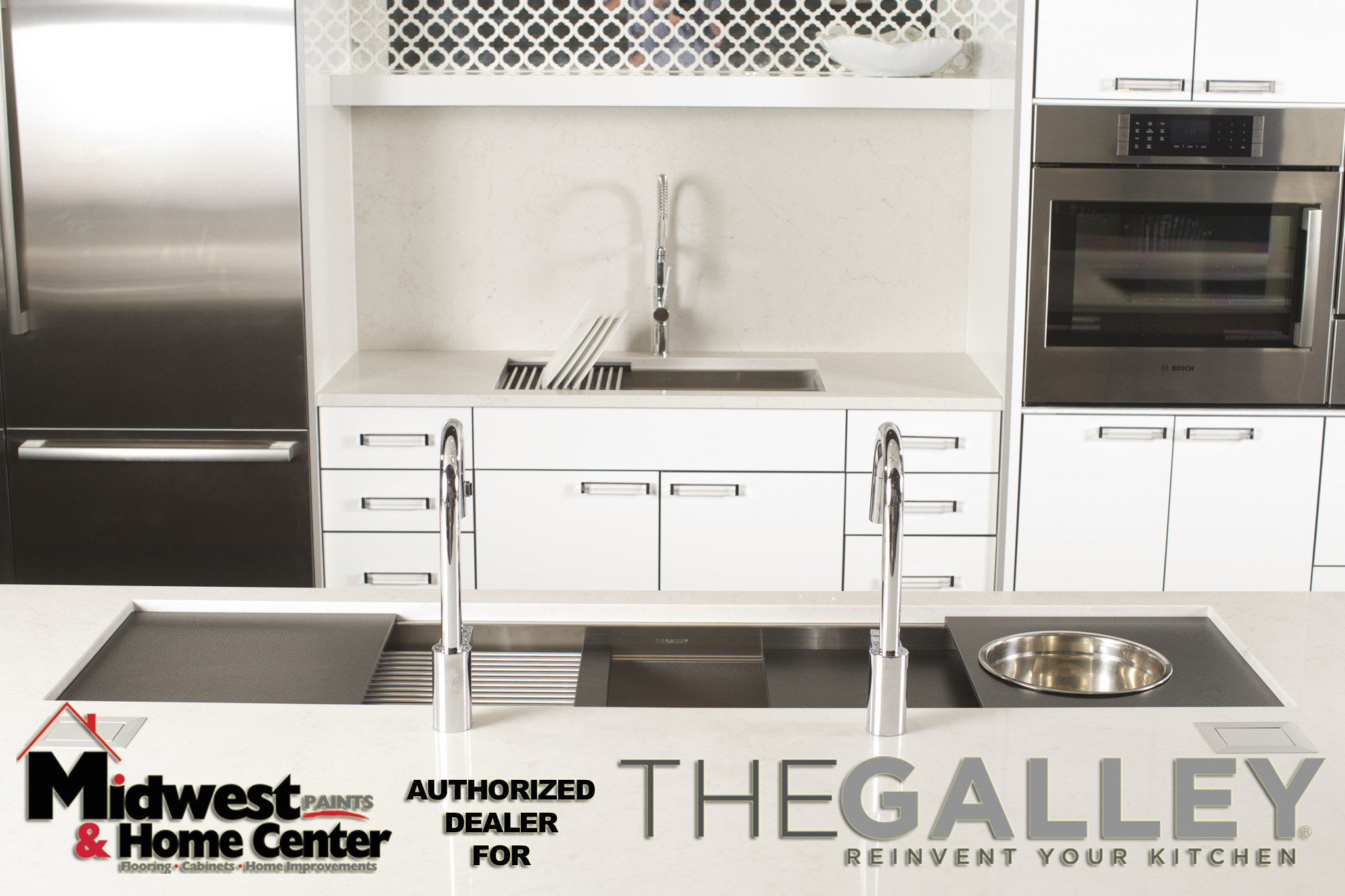 9/25/14 5:24:11 PM -- Kitchen interiors of The Galley sink at Metro Appliance for Kitchen Ideas/The Galley  Photo by Shane Bevel