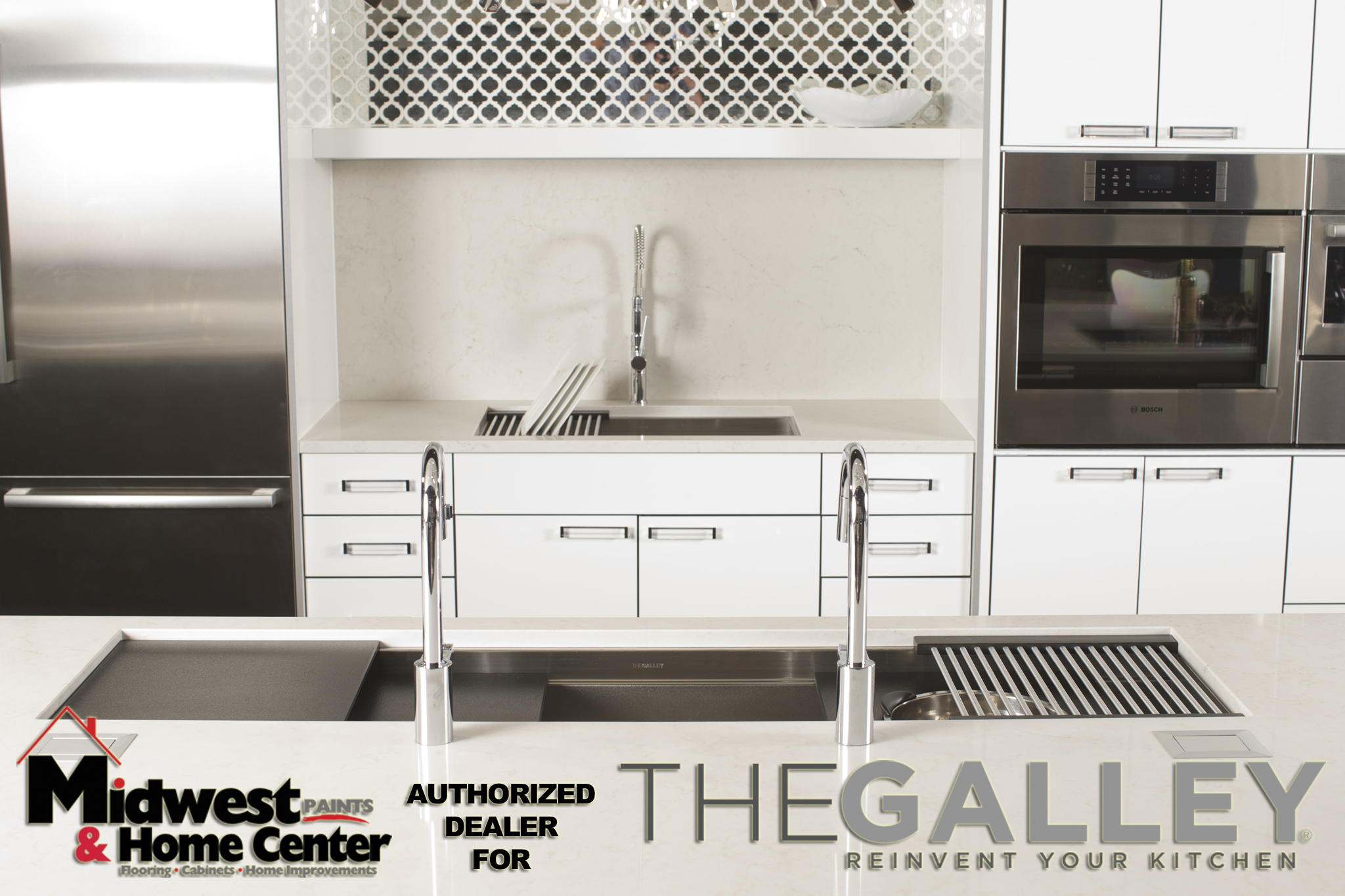 9/25/14 5:20:12 PM -- Kitchen interiors of The Galley sink at Metro Appliance for Kitchen Ideas/The Galley  Photo by Shane Bevel