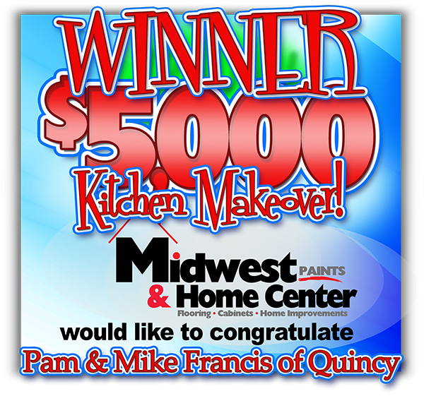 Winner announced for $5,000 Kitchen Makeover